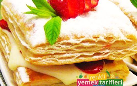 Çilekli Milföy Tarifi Çilekli Milföy Tarifi,milföy pasta,milföy nasıl yapılır,sütlü tatlılar,pasta tarifleri,Strawberry cake,Erdbeerkuchen,клубничный торт http://renkliyemektarifleri.com/cilekli-milfoy-tarifi