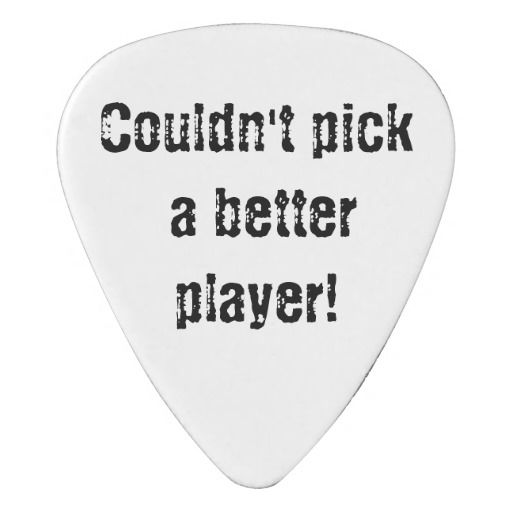 Personalized Guitar Pick makes a great gift or stocking stuffer! Any color you want with your choice of fonts, font colors, etc.