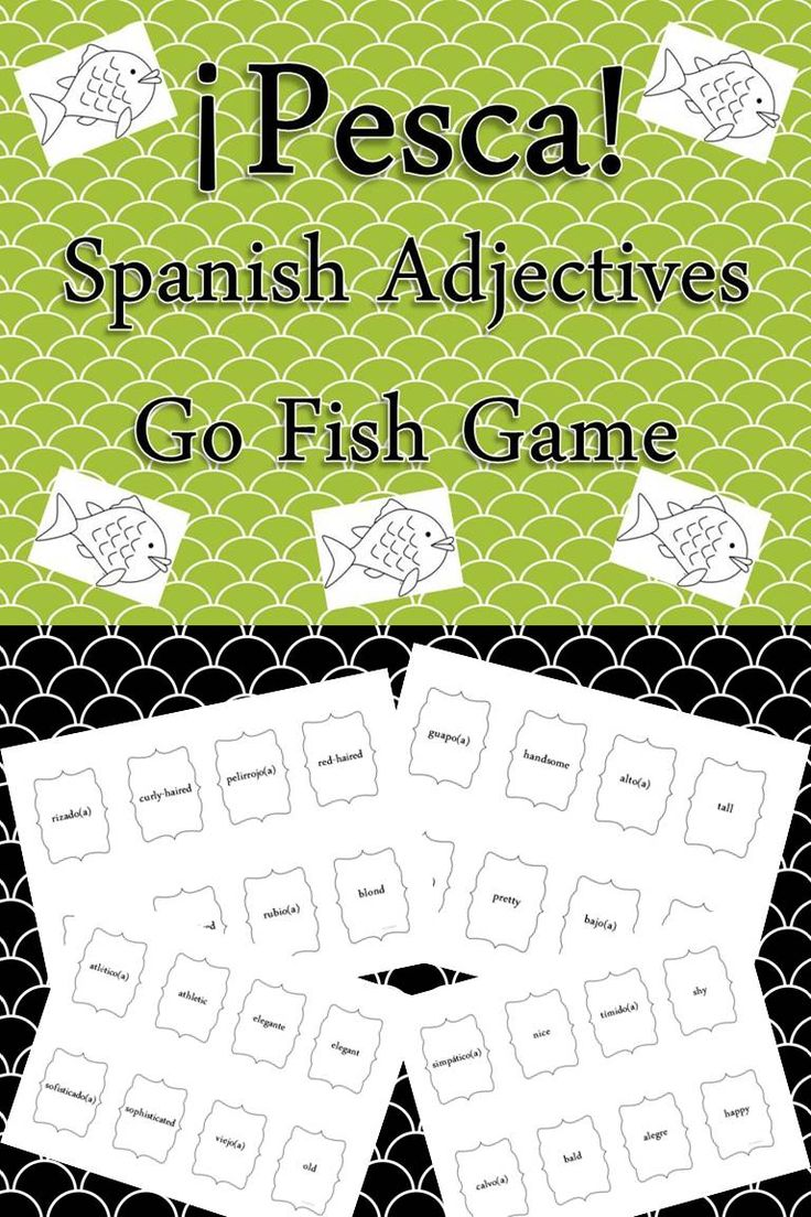 My Students Love Playing This Game! Fun Way To Play Around With #adjective  Vocabulary