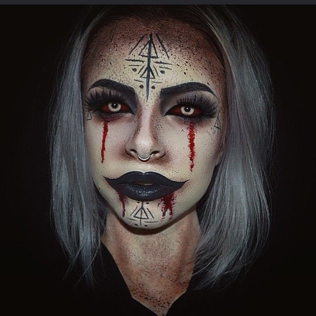 Demon Makeup on Pinterest : Halloween makeup, Special effects makeup ...