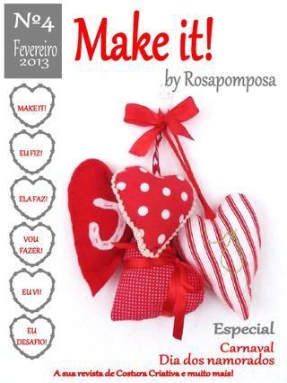 Make it nº4 A sua revista de costura criativa e muito mais.
