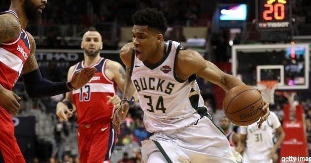 Yesterday's results  Charlotte #Hornets vs Detroit #Pistons 118-107 (D.Howard 21p17r) Toronto #Raptors vs Philadelphia #Sixers 111-117 (J.Embiid 34p11r) Milwaukee #Bucks vs Washington #Wizards 104-95 (G.Antetokounmpo 27p20r / J.Wall 27p9r) Sacramento #Kings vs OKC #Thunder 88-95 (R.Westbrook 19p16r9a) NY #Knicks vs Brooklyn #Nets 119-104 (K.Porzingis 26p9r M.Beasley 23p10r) SA #Spurs vs Atlanta #Hawks 99-102 (L.Aldridge 25p11r / D.Schroder 26p7a) Miami #Heat vs Chicago #Bulls 111-119…