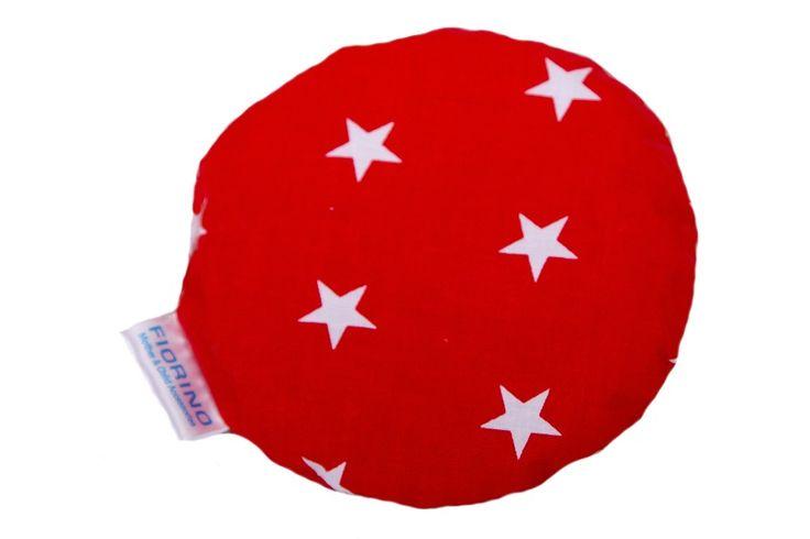 Termofor z pestkami wiśni GWIAZDKI CZERWIEŃ Warmer with Cherry Stones Stars Red https://fiorino.eu/