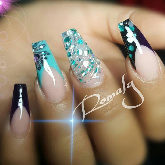 Glitter wavy nail, scoop technique and deep smile line!! 407-745-7540 For appointments and one on one classes . . ____________________________  #nailart #uñas #boricuanails #hotnails #orlandonails #lovenails #orlandonailtech #nails2die4 #notpolish  #nailstagram #simplenails #longnails #coolnails #naildesign #nailswag #nails #newtrend #orlando #floridanails #ignails #nailsmagazine #beautifulnails #sexynails  #nailpolish  #nailsorlando #glitternails #nailporn #nailglam #goromaly #coffinnails…