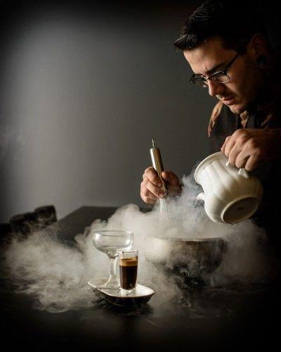 Next up in coffee: Liquid nitrogen affogatos and barrel-aged coffee.