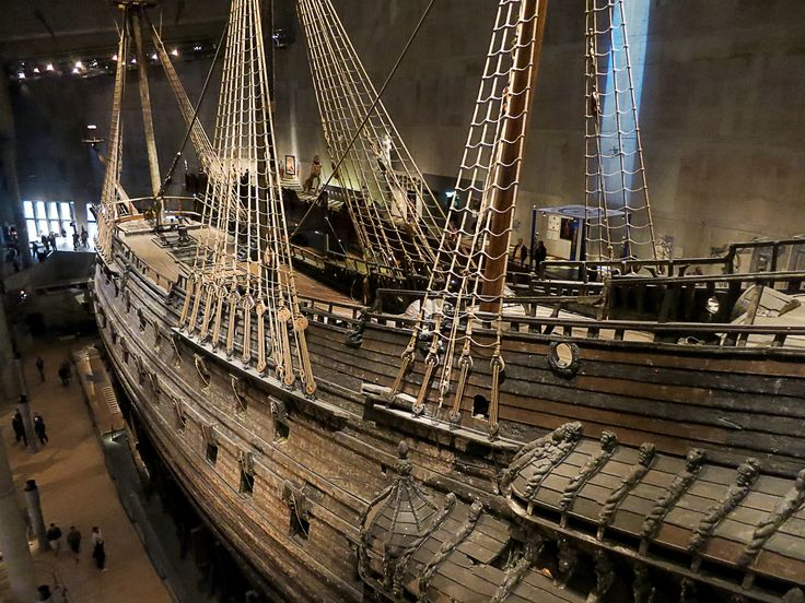 the Vasa Ship in Stockholm, Sweden (by Savier)