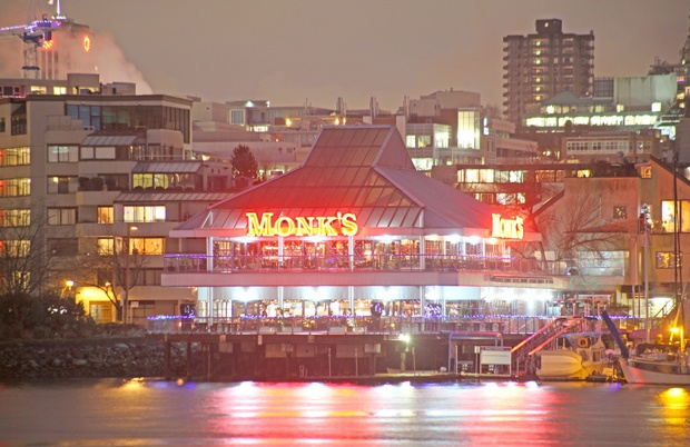 Monk McQueens will serve its last customers tonight on New Year's Eve, 26 years after opening on False Creek.