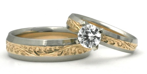 Hawaiian wedding ring giveaway honolulu jewelry company for Hawaiian wedding ring sets