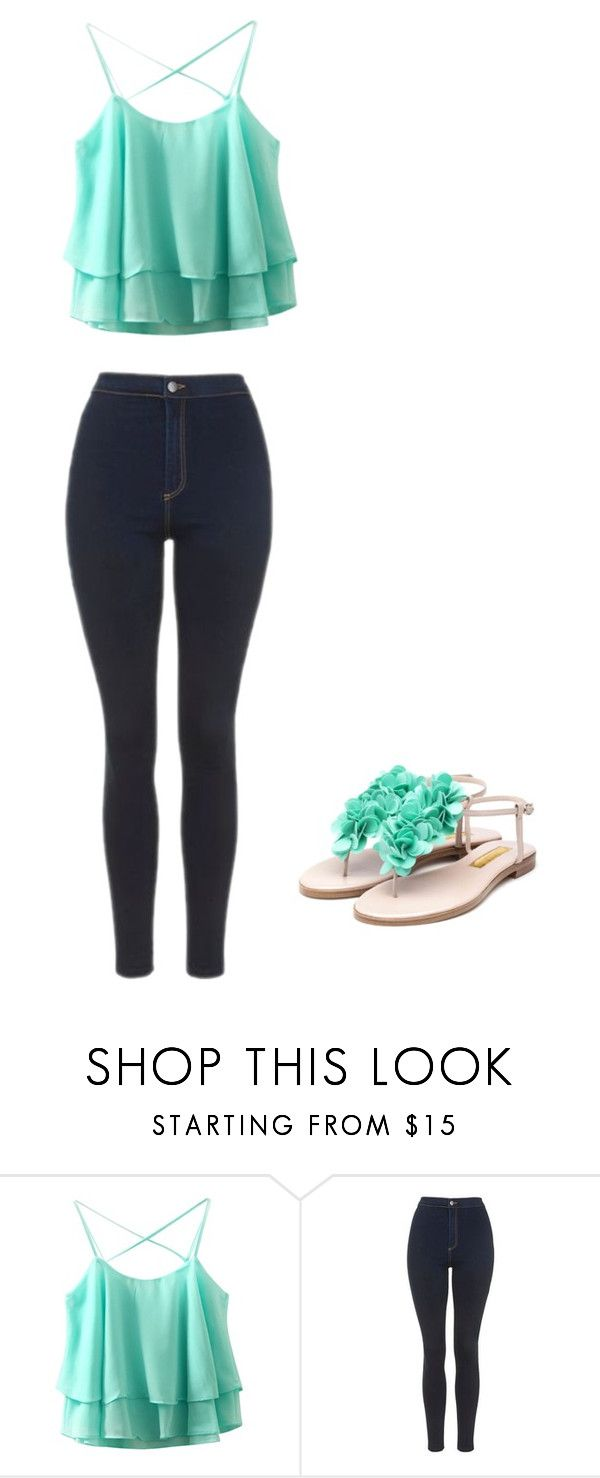 """Layed Back but Dressed up"" by renee-9392 on Polyvore featuring Topshop and Rupert Sanderson"