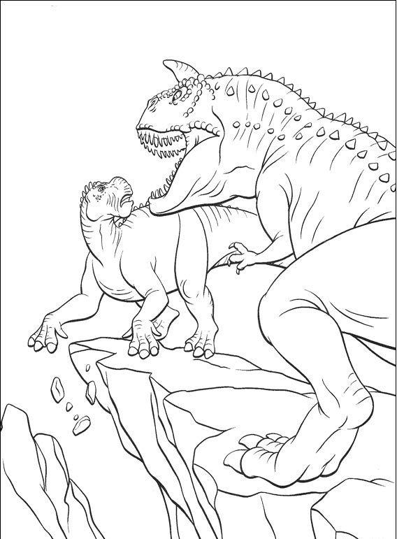 ausmalbilder dinosaurier fleischfresser  ausmalbilder