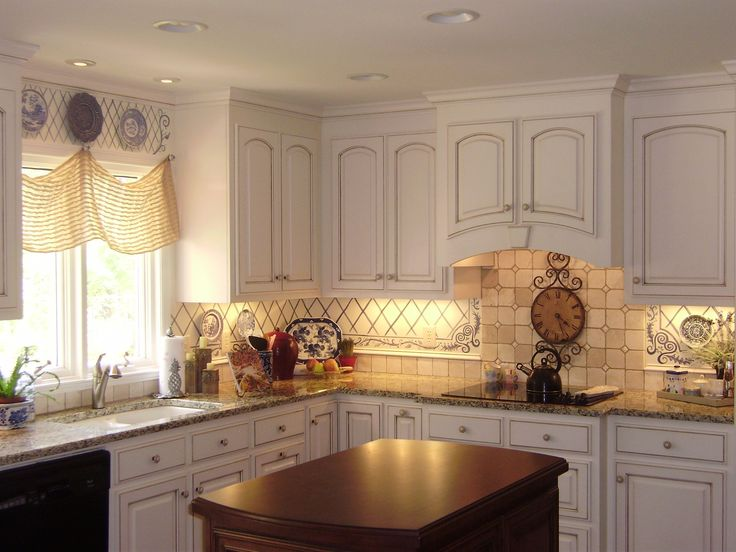 Hand Painted Backsplash