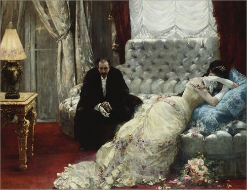 Return from the Ball by Henri Gervex