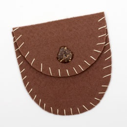 Camp Craft Pouch - good for collecting rocks and shells
