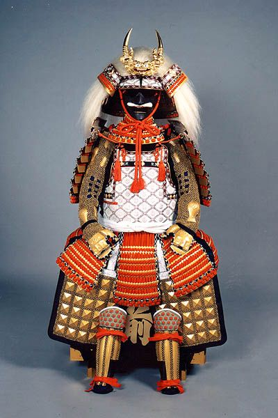 Samurai armor is displayed for Tango no Sekku ( Boy's Day )