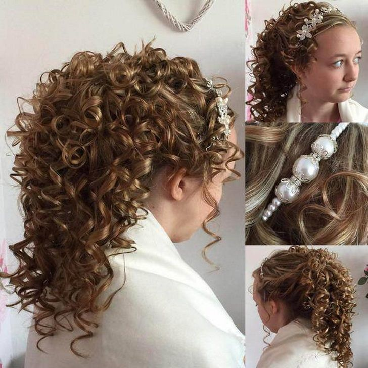 Best 25 Loose Curls Wedding Ideas On Pinterest Hairstyles And Wavy