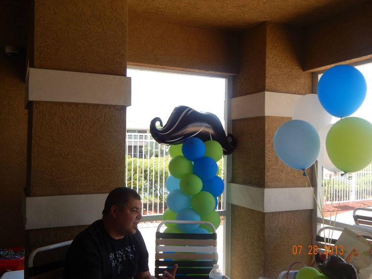 Columnas de  globos...by juliana