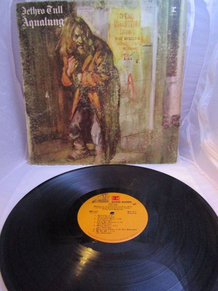 Jethro Tull AQUALUNG LP Vinyl First Issue 1971 Reprise Records MS 2035 Gatefold  #AcousticPsychedelicRock