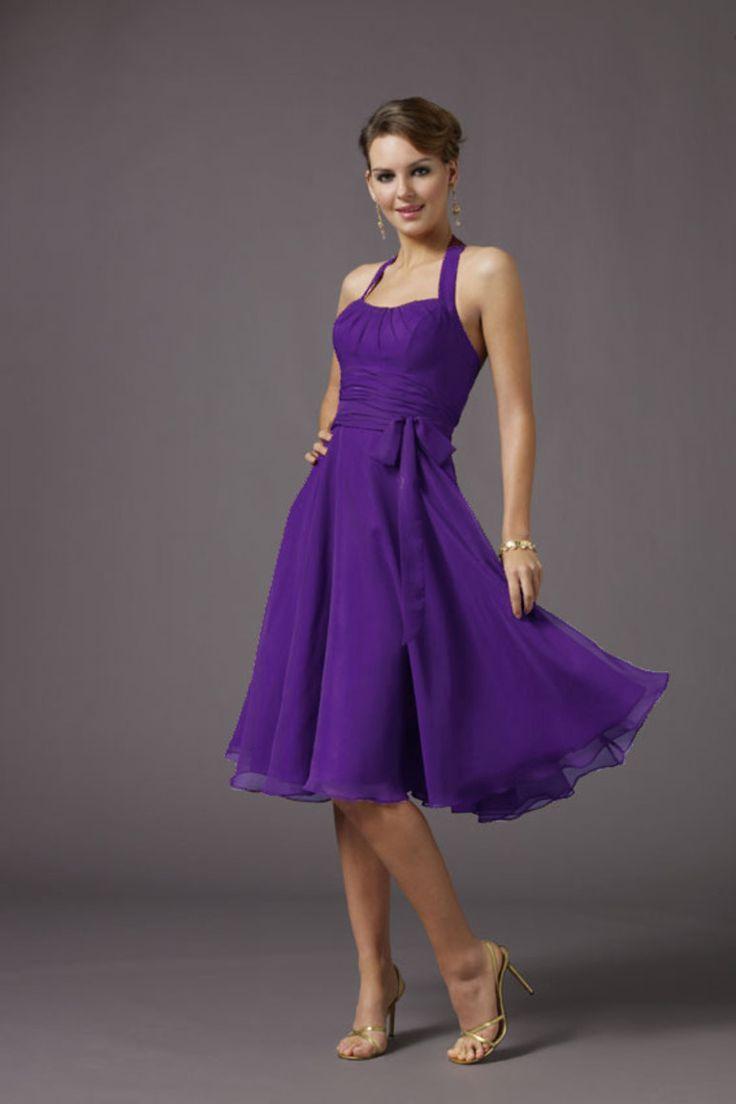 102 best bridesmaid dresses images on pinterest groomsmen bridesmaid dresses a line halter knee length belt chiffon with ruffle ombrellifo Choice Image