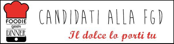 Sai che ti puoi candidare per partecipare anche tu alla cena del prossimo 26 ottobre  a Venezia? Come, ecco qui il link: http://foodiegeekdinner.us6.list-manage1.com/subscribe?u=4a39664d52a7e91b3533edc91&id=bc106e9043