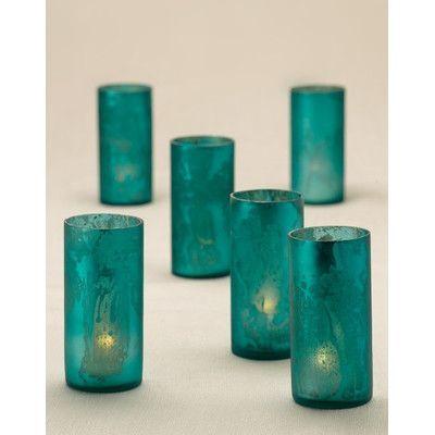 Serene Spaces Living Glass Votive