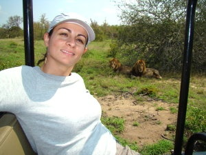Lion Sighting at Inyati Game Reserve in South Africa