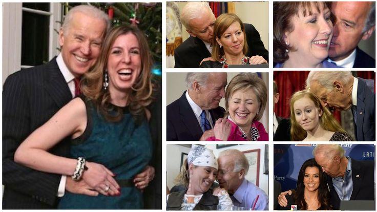 Creepy Joe Biden Strikes Again, Gets Uncomfortable With Defense Secretary's Wife Compilation of Joe Biden being creepy