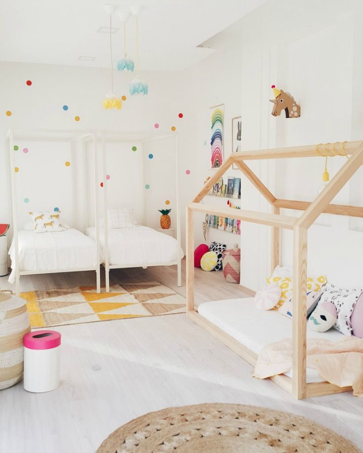 A Fresh Shared Girl's Room - Petit & Small