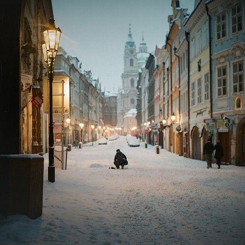 Prague by dawn