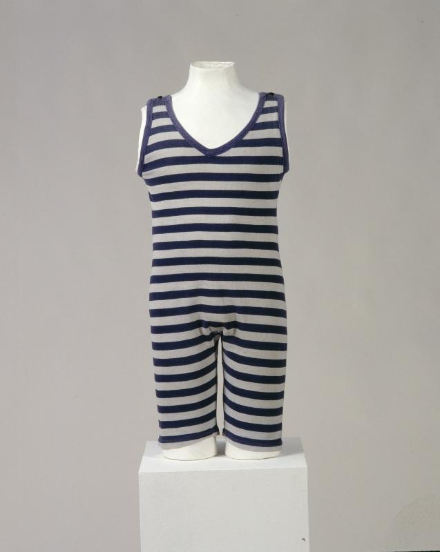 Men's swimsuit, c. 1920.