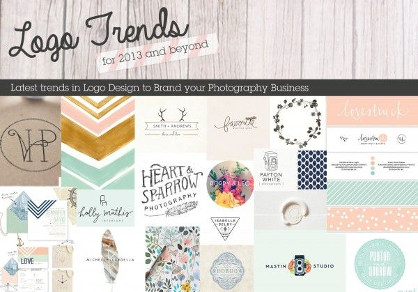Trends in Logo Design to Help You Brand Your Photography Business. iheartfaces.com
