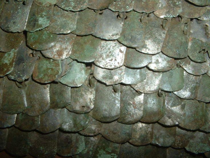 roman scale armour (lorica squamata).