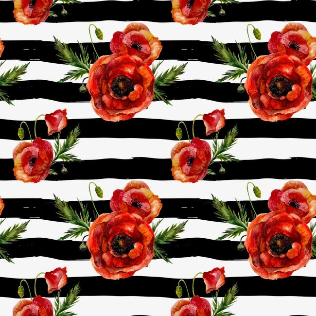 Flowers Shading Black Floating Flowers Red Flowers Png And Vector With Transparent Background For Free Download Red Poppies Red Flowers Fancy Flowers