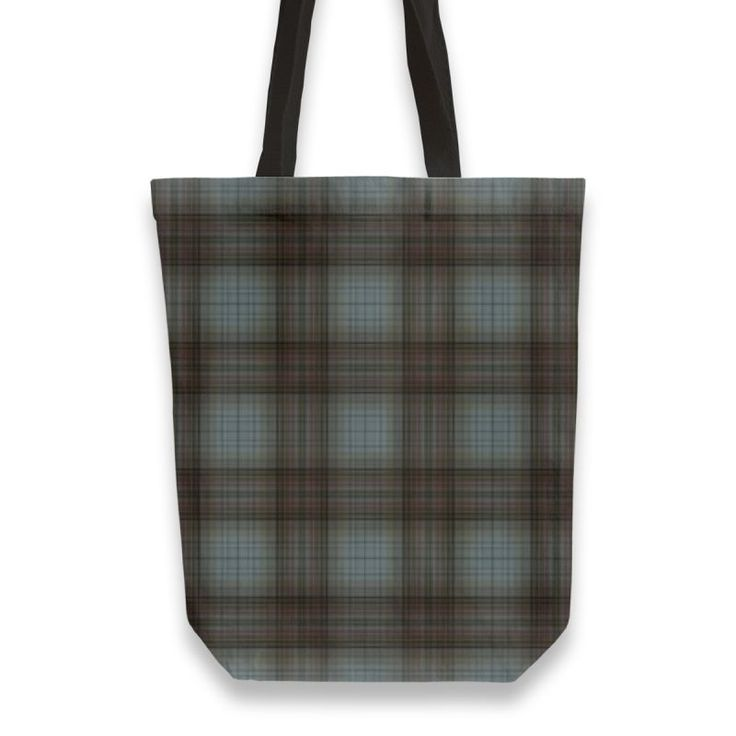 Modern Ehnic Scottish Plaid blue and brown Totebag by Ana Matos e Lemos (@annalemos) from €25.00 | miPic