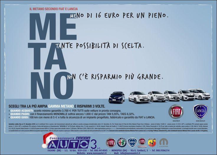 MEno di 16,00€ con un pieno. TAnte possibilità di scelta. NOn c'è risparmio più grande.  http://www.nuovaauto3-fcagroup.it/fiat/promozioni#86129