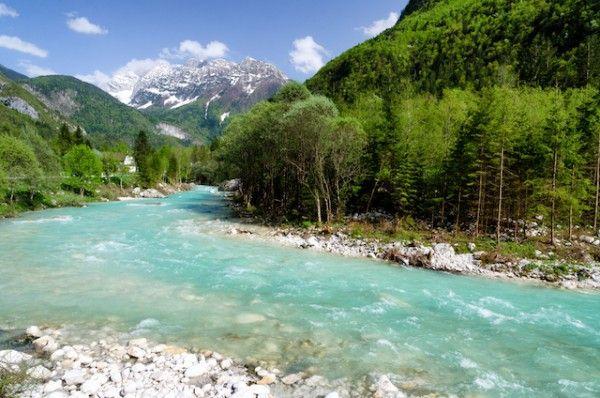 Rivière Soca - Slovénie - shutterstock