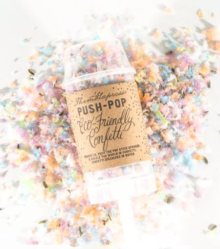 The Original Push Pop Eco Friendly Confetti