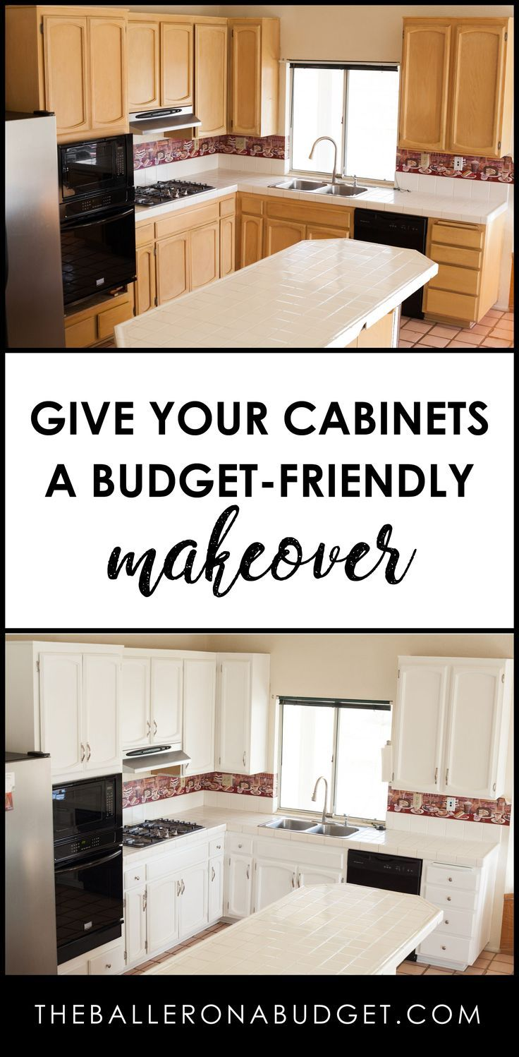Kitchen Diy Renovation Pt 1 Cabinet Makeover Cheaper Than New Custom Cabinets The Baller On A Budget An Affordable Fashion Beauty Lifestyle Blog Diy Kitchen Renovation Cheap Kitchen Cabinets Diy Kitchen