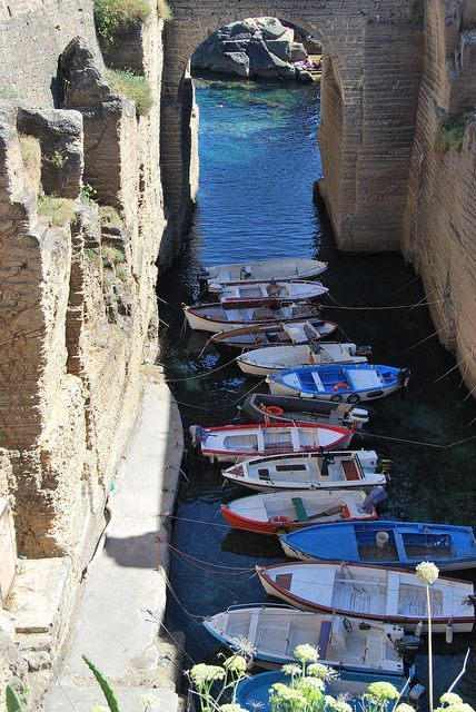 Puglia, Italy - a land of fishing towns and colour.  This is at Santa Cesarea Terme, Gallipoli.