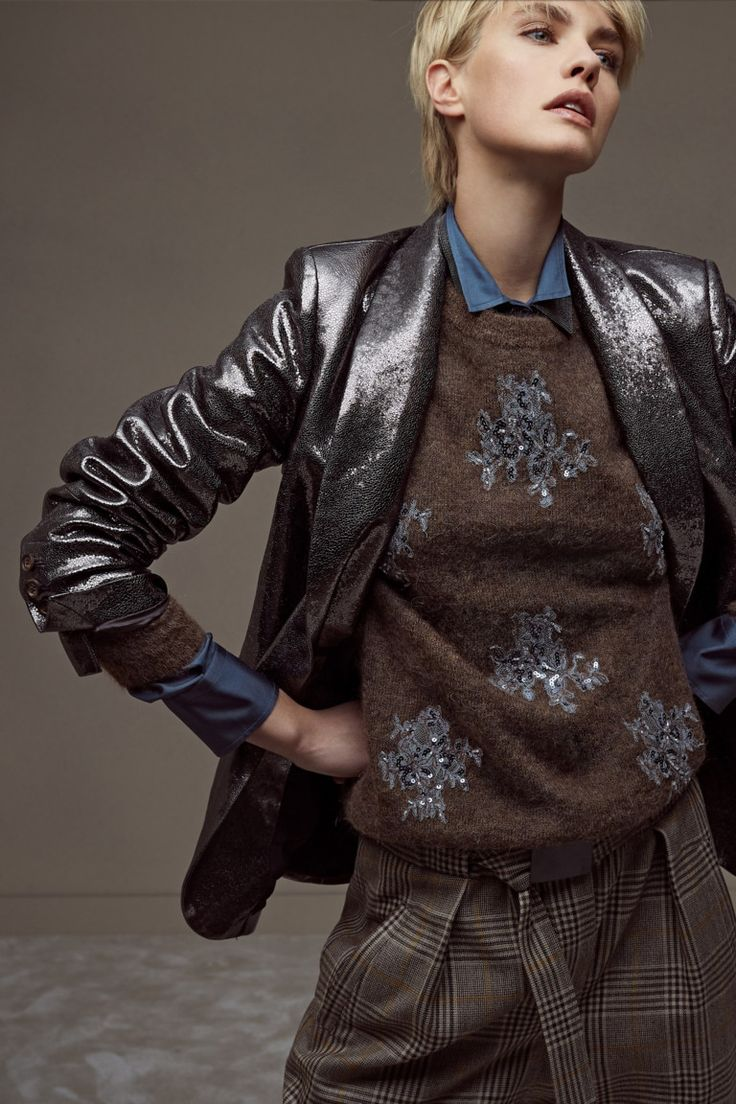 Brunello Cucinelli коллекция | Коллекции осень-зима 2018/2019 | Милан | VOGUE