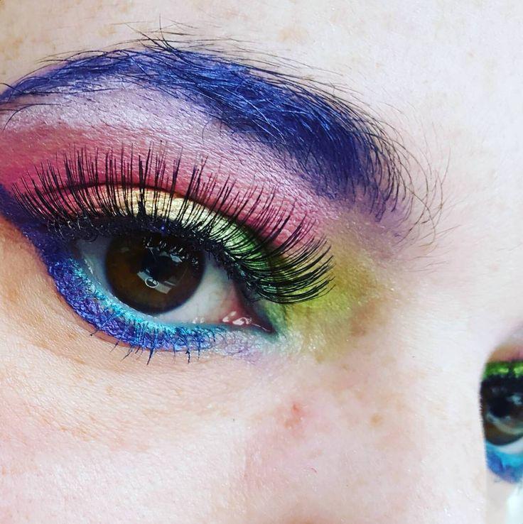 Regenboog! #makeup #dressup #eyes