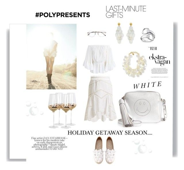 """#PolyPresents: Last-Minute Gifts"" by you-dontsay ❤ liked on Polyvore featuring Anya Hindmarch, NEST Jewelry, Chicwish, Posh Totty Designs, Bottega Veneta, Gucci, Madara, Zimmermann, contestentry and polyPresents"