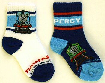 thomas the train socks | Ribbed Crew Socks 2-Pk: Thomas & James - Thomas the Train Clothing ...