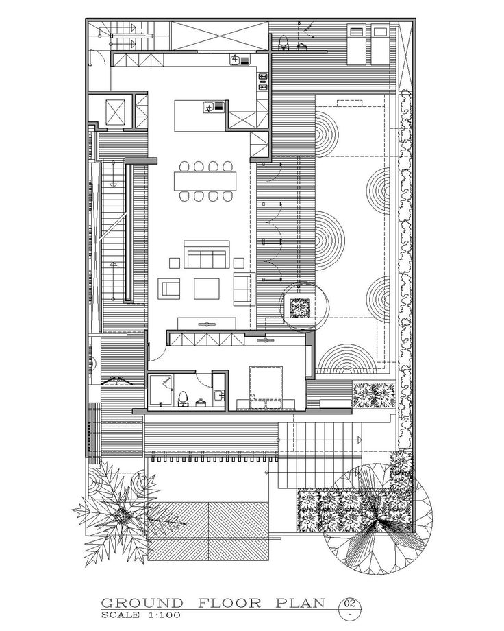 Image 17 of 20 from gallery of Ben House GP / Wahana Architects. Floor Plan