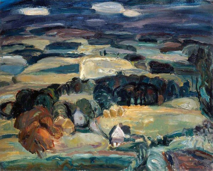 William George Gillies  Landscape, 1932