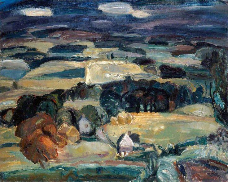 William George Gillies Landscape, 1932