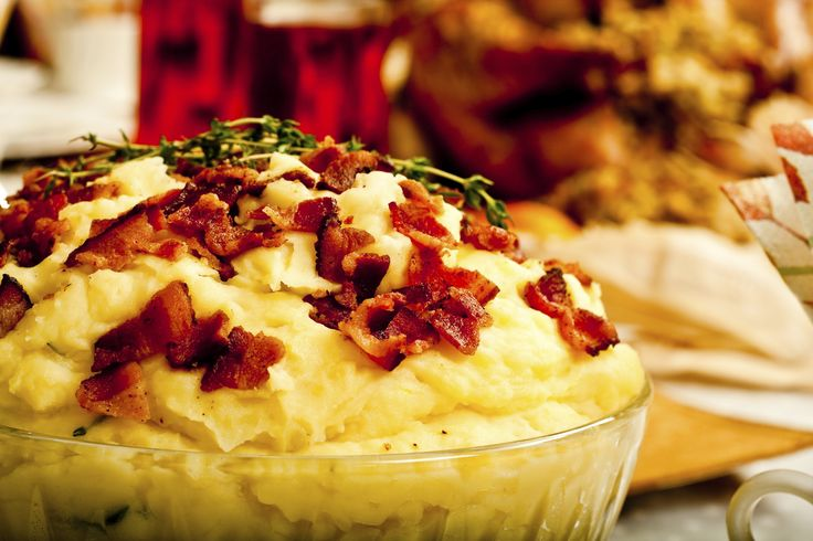 Creamy Ranch Buffalo Mashed Potatoes