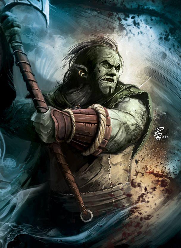 Dragonero RPG: Gmor Burpen by shiprock.deviantart.com on @DeviantArt