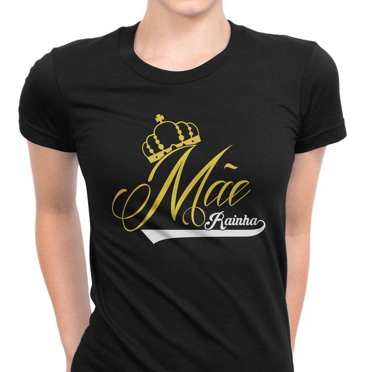 Mãe Rainha! 👑 #zizimut #funnytshirts #tshirts #hoodies #sweatshirt #giftshops #personalizedgifts #personalizadas #porto🇵🇹 #tshirtshop #mãe #mother #diadamãe #mothersday #mommy #mamã #mom #prenda #gift #queen #rainha