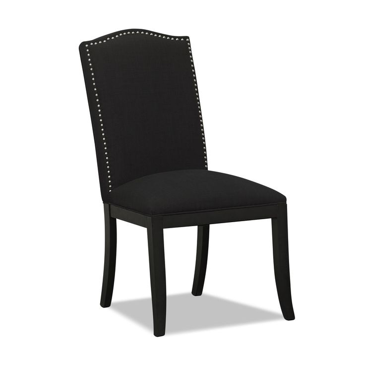 Living room furniture morris accent chair black