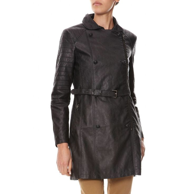 Trench noir Chipie Women